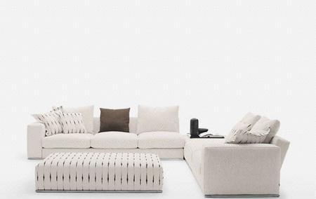 北山家居客厅家具多人沙发1SD047AD组合1SD047AD组合