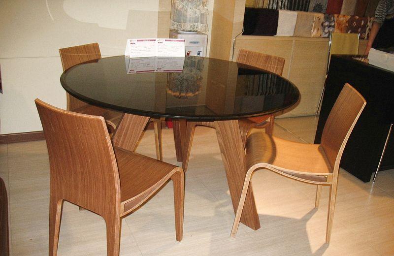 左右玻璃餐桌CT039CT039