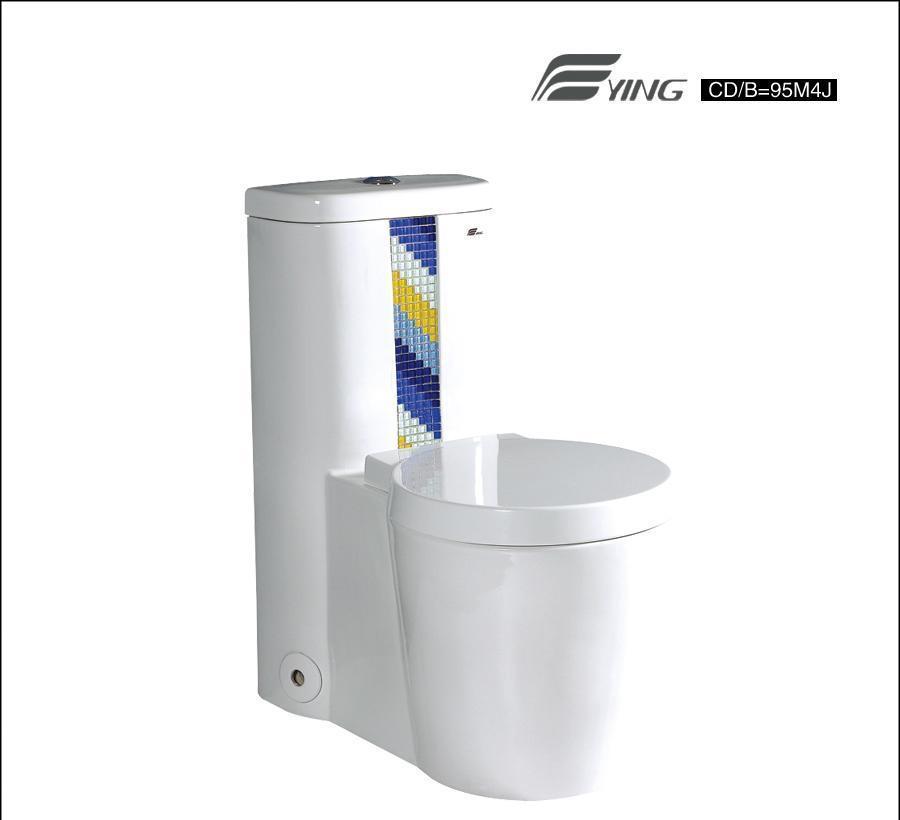 鹰卫浴连体座厕 CD=9530M4JCD=9530M4J