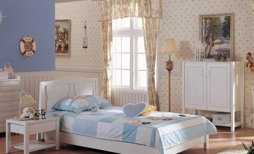 宜伟卧室家具实木系列水曲柳YW-SWF-04整体卧室