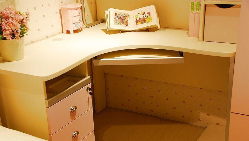 我爱我家儿童家具FG40-K+G+W+X组合书桌FG40-K+G+W+X