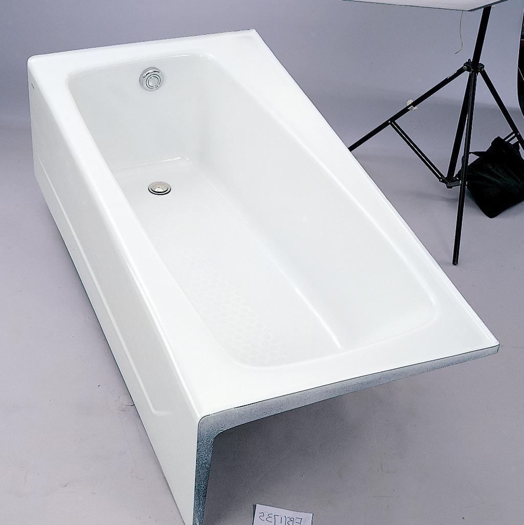 TOTO铸铁左裙浴缸(白)FBY1735