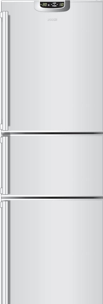 博世·激彩色冰箱系列KGF29642TI