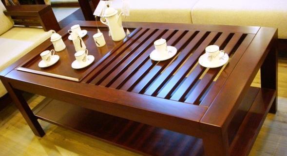 光明实木客厅家具系列-001茶几001-3205-1400