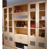 诺捷书房家具-书柜6K016