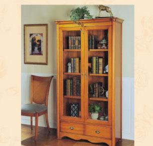 大风范家具洛可可书房系列RC-552两门书柜RC-552两门书柜