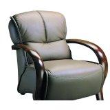 联邦家私木扶手2109V单人沙发