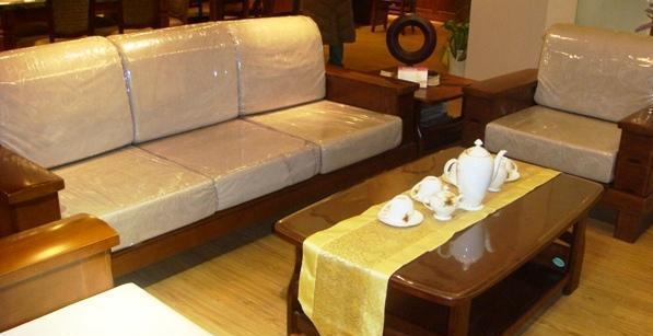 谷氏实木家具G-5客厅豪华木沙发G-5