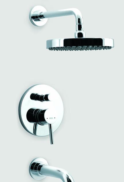 乐家卫浴兰特系列入墙式浴缸淋浴龙头5A0659C0N5A0659C0N
