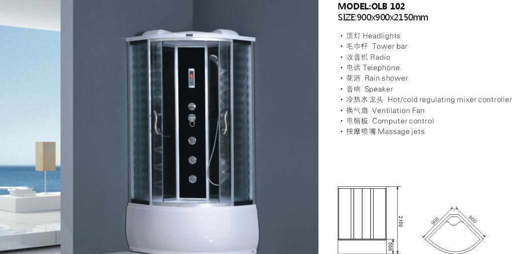欧罗芭OLB102整体淋浴房OLB102