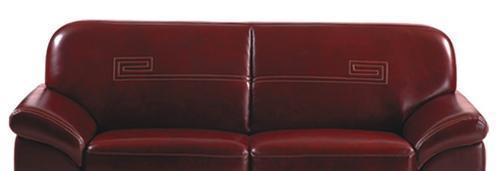 联邦家私2761三人沙发(9003皮)2761