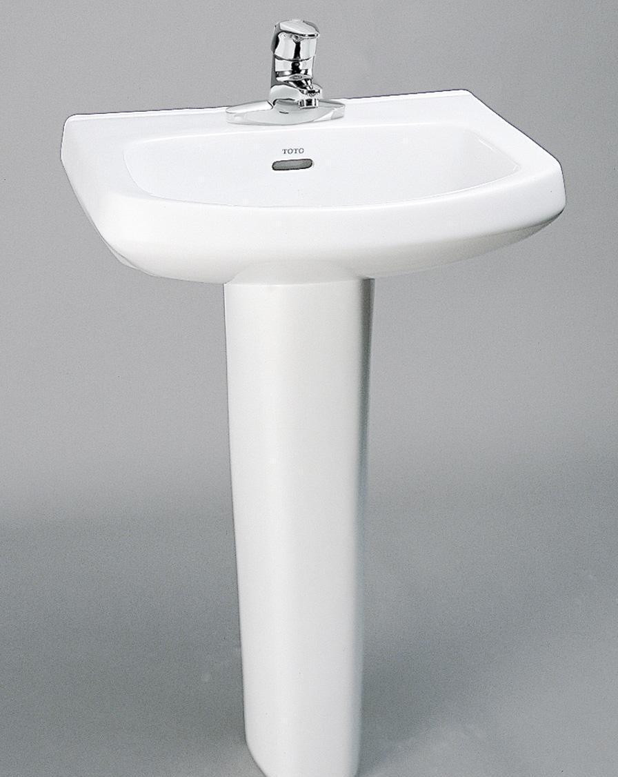 TOTO柱式洗面盆LW251CB-LW220FRBLW251CB-LW220FRB