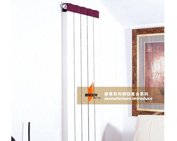 九鼎鼎尊系列JDTL6-15铜铝散热器JDTL6-15