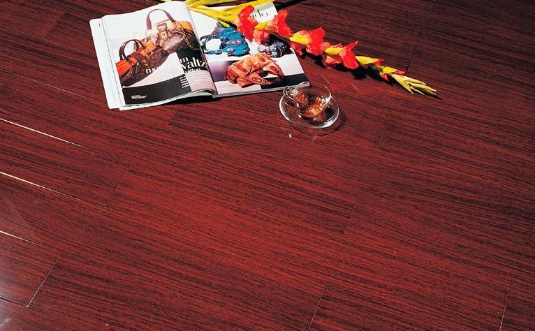 标王亚实木地板加州黑胡桃B1805
