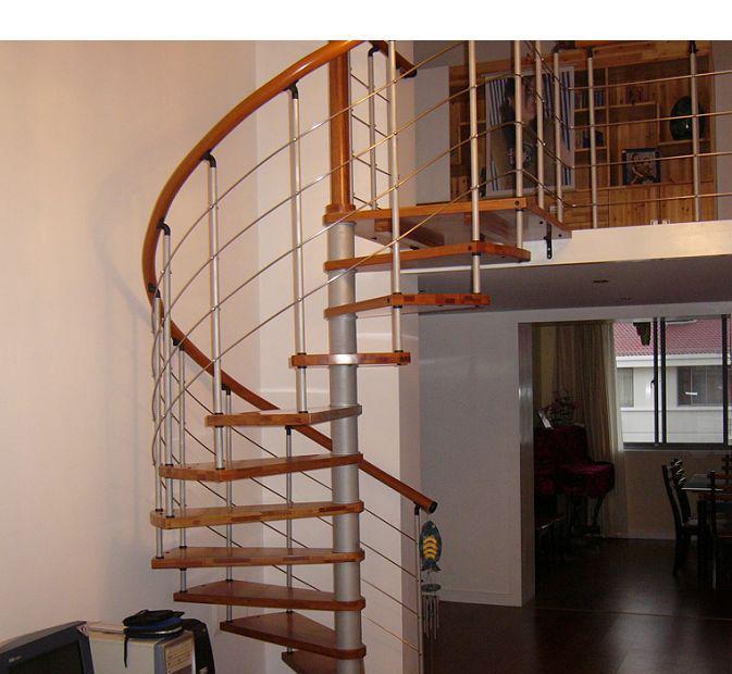 品家恰茗B系列钢木楼梯