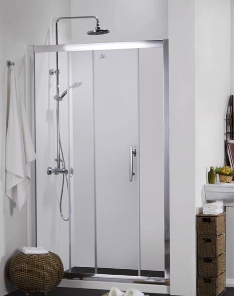 德立L2101长方型推拉门淋浴房L2101