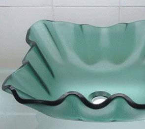 古亚立体玻璃盆Y222