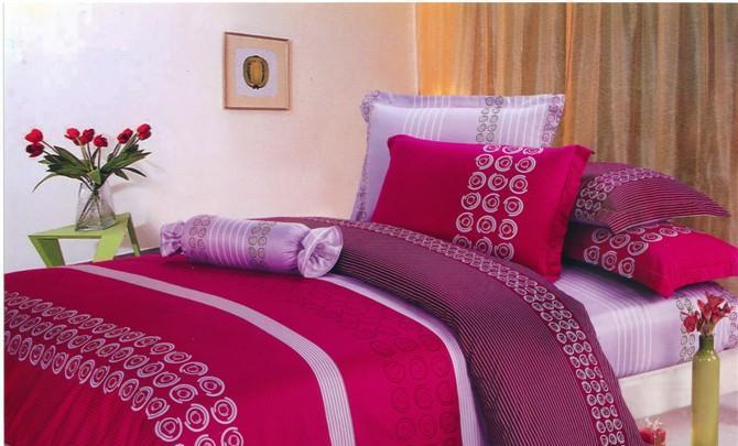 瑞如家纺环保活性印花精梳棉婚庆床上用品HX06四HX06