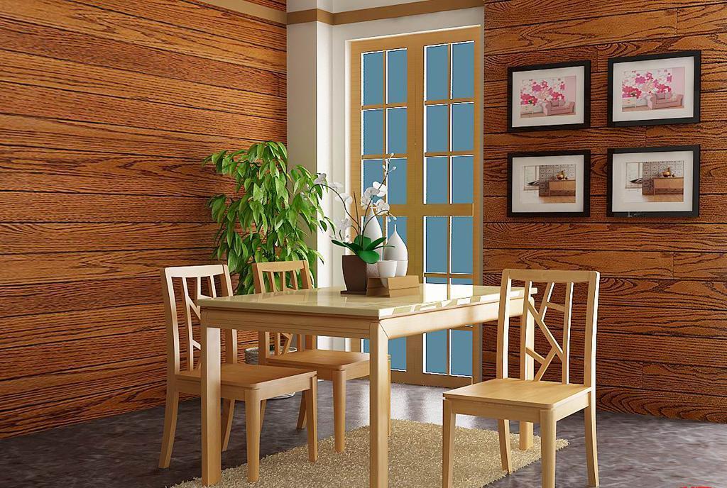 树之语水木年华系列-浅色CZ7502餐桌CZ7502