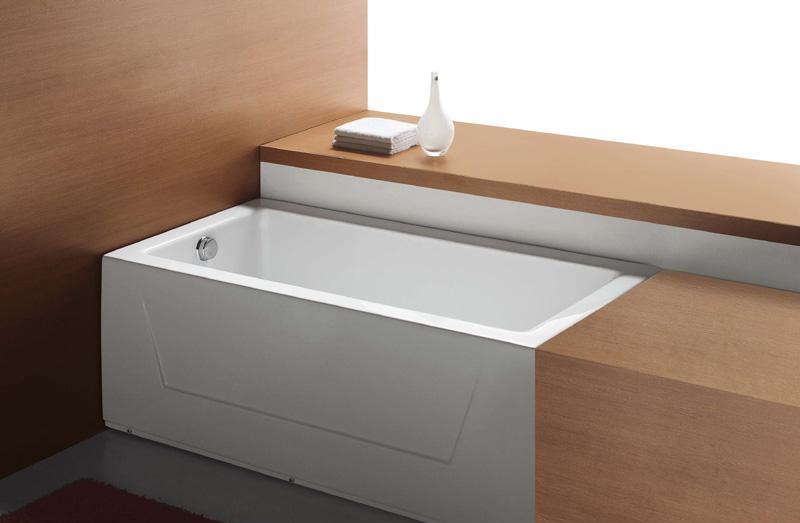 地中海连体裙边普通浴缸M-B8013(8014)M-B8013(8014)