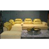 色彩人生黄色羽绒沙发