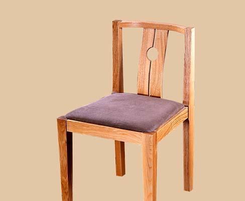 树之语全实木水曲柳原木系列B-餐椅2#B-餐椅2#
