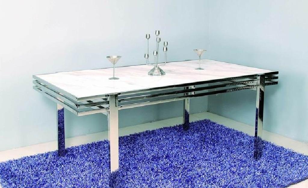 卡丽亚SD-E203现代风格大理石餐桌<br />SD-E203