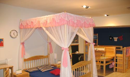 星星索儿童家具蚊帐架床s6209-12As6209-12A