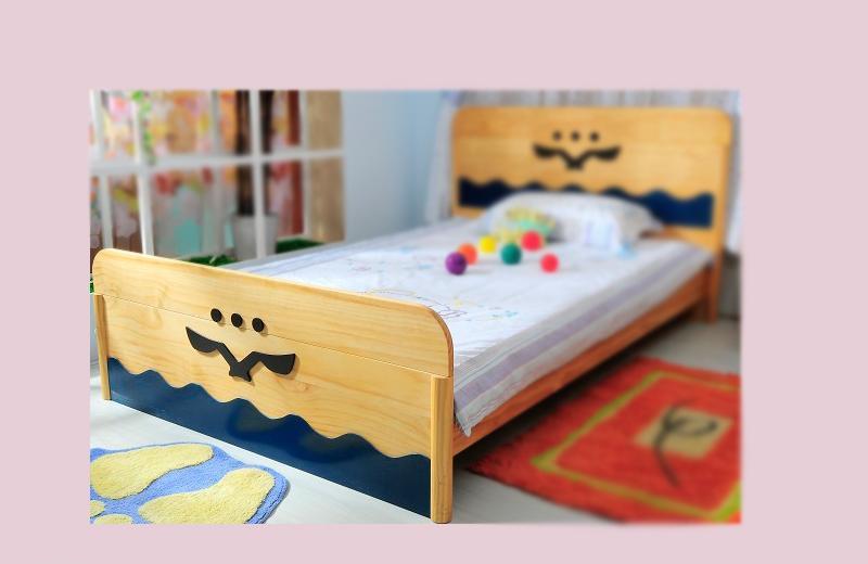 爱心城堡儿童家具床J019-BD1-NRJ019-BD1-NR