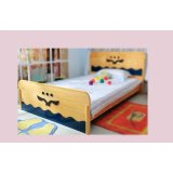 爱心城堡儿童家具床J019-BD1-NR