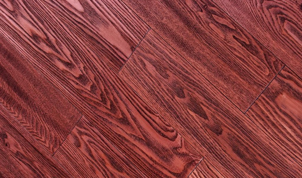 上臣实木地板白腊木系列12-F-1<br />