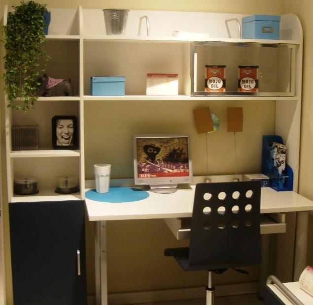 多喜爱彩色儿童家具-书桌+书架8G-A8G-A