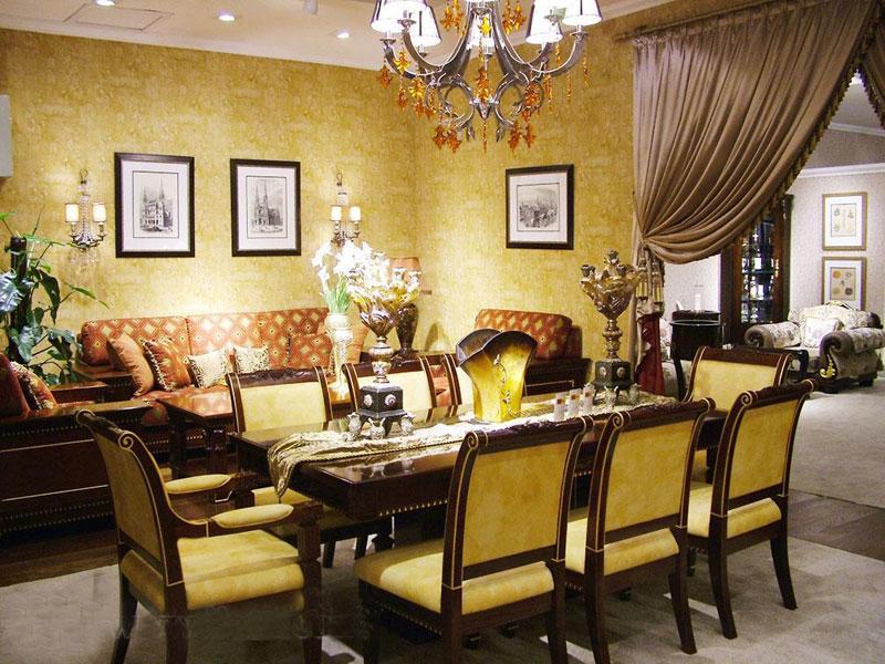 标致餐厅家具-凯欧丽斯系列-餐桌餐椅1