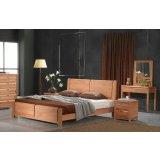 宜伟实木系列YW-SWF-05床+床头柜