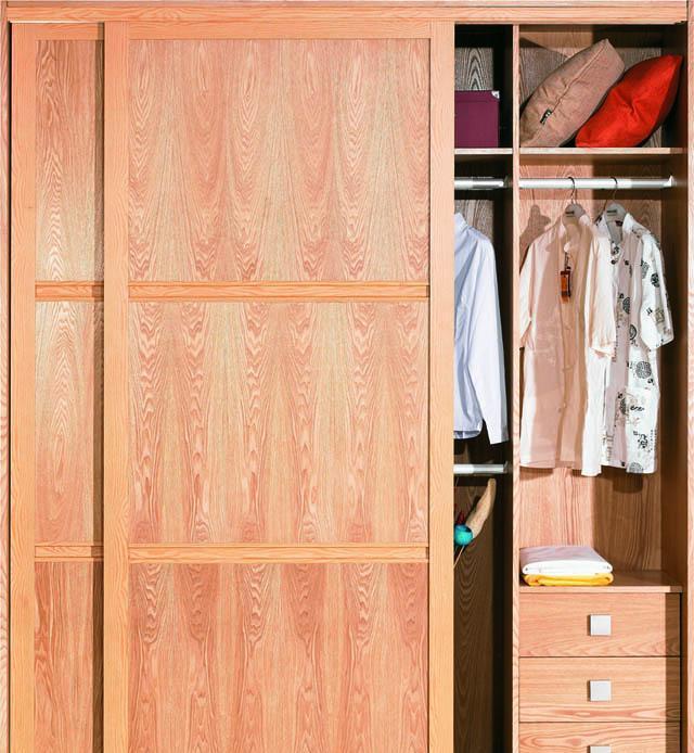 好莱客衣柜实木皮――尊贵黄:尊贵黄