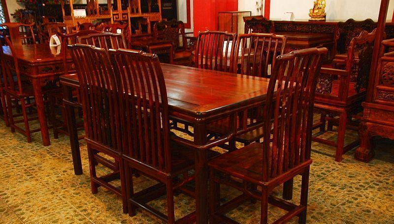 元亨利家具梳背式餐桌/椅E-S-0487-19E-S-0487-19