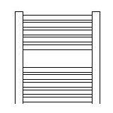 现代散热器安卡斯不锈钢管电镀系列AKS-DL-12/45