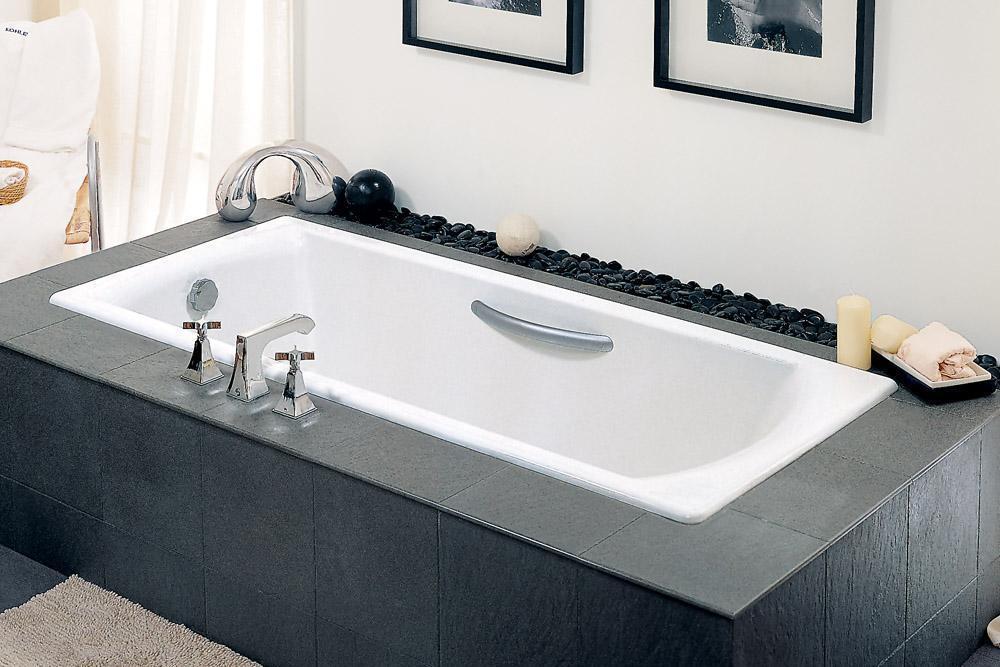 科勒-碧欧芙 铸铁浴缸K-8277(-GR)K-8277(-GR)