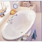 科勒-佩斯格半嵌入式按摩浴缸