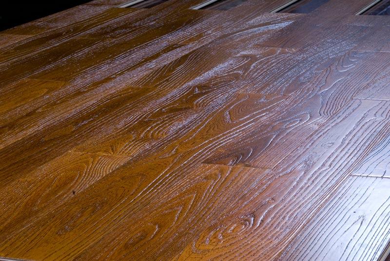 久盛实木复合拉丝系列k-12-6栎木
