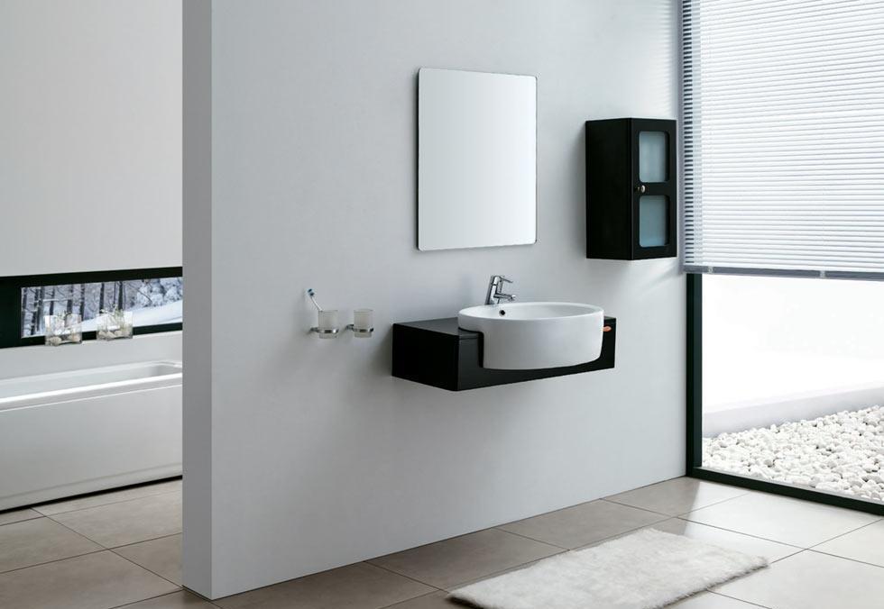 安华卫浴实木浴室柜系列ANPGM3348G柜ANPGM3348G柜
