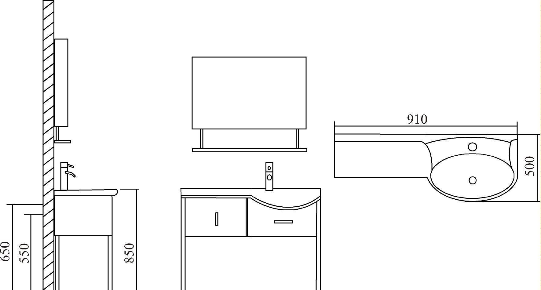 英皇浴室柜YL-1074YL-1074