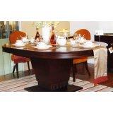 赛恩世家餐厅家具椭圆餐桌SP187