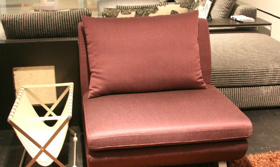 凯帝布艺无扶KD8061单人沙发KD8061