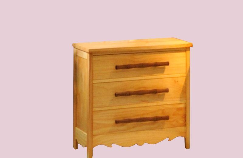 爱心城堡儿童家具熊猫系列柜子J001-CT1-NRJ001-CT1-NR