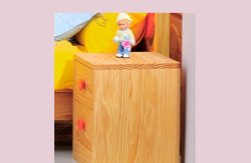 爱心城堡儿童家具床头柜J015-BW1-NRJ015-BW1-NR