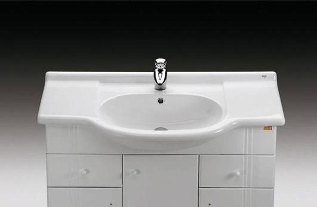 乐家卫浴奥林普一体式台上洗脸盆3-25890..13-25890..1