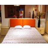 五木板式家具系列-双人床架WD-36