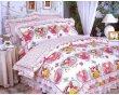 梦洁家纺全棉花边三件套(1.2和1.5床用)25号