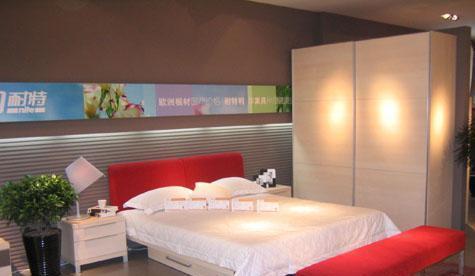 耐特利尔家具-白枫系列-床